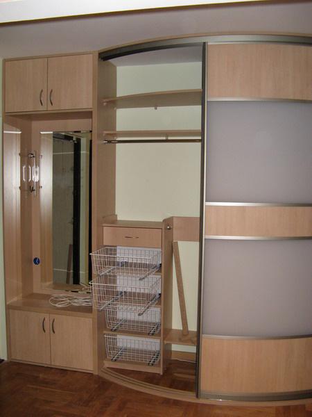 Радиусные двери и шкафы-купе - мебель на заказ в воронеже.